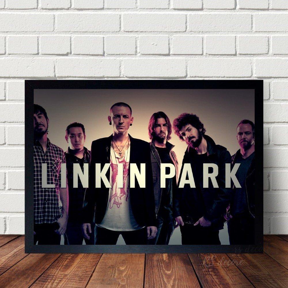 Quadro Decorativo Linkin Park
