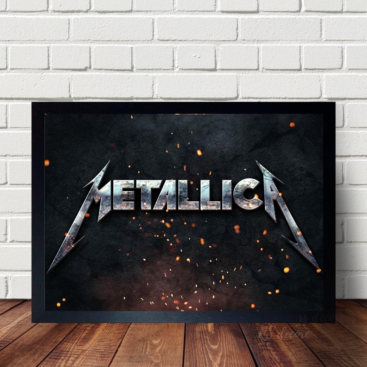Quadro Decorativo Metallica I
