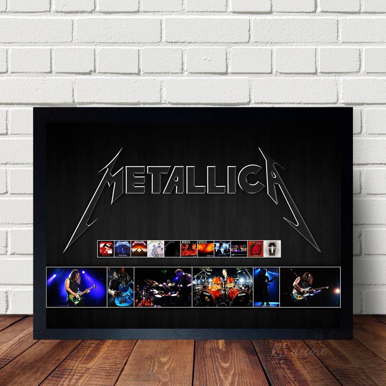 Quadro Decorativo Metallica IV