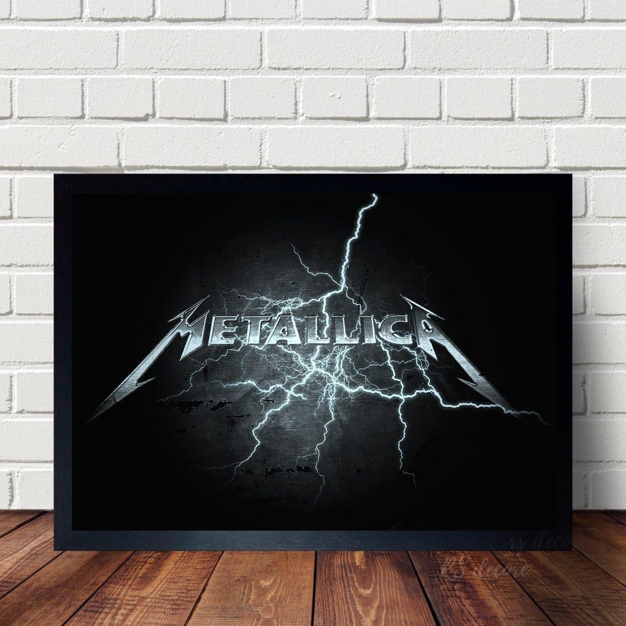 Quadro Decorativo Metallica IX