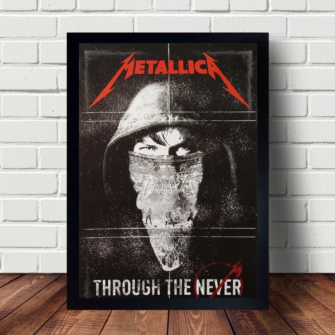 Quadro Decorativo Metallica VII