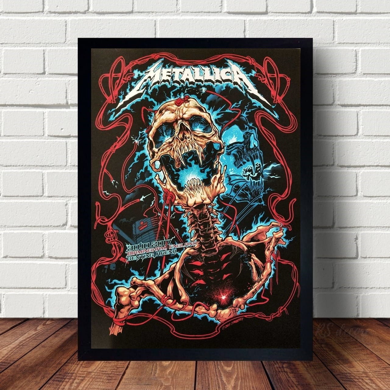 Quadro Decorativo Metallica XII
