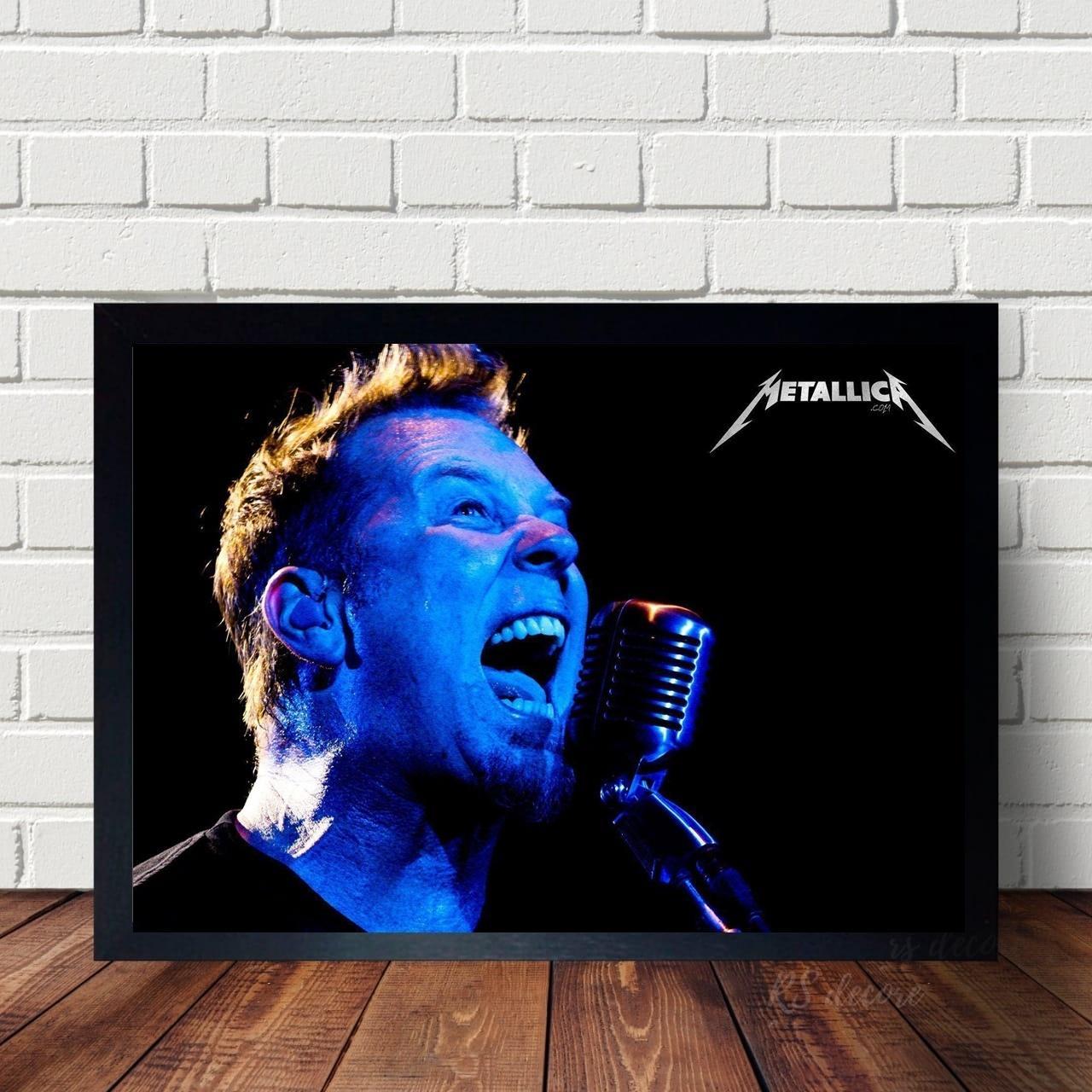 Quadro Decorativo Metallica XIII