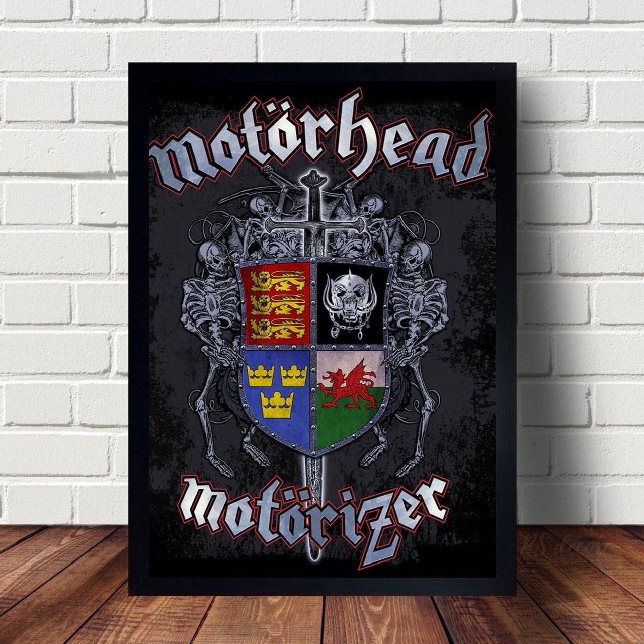 Quadro Decorativo Motorhead I