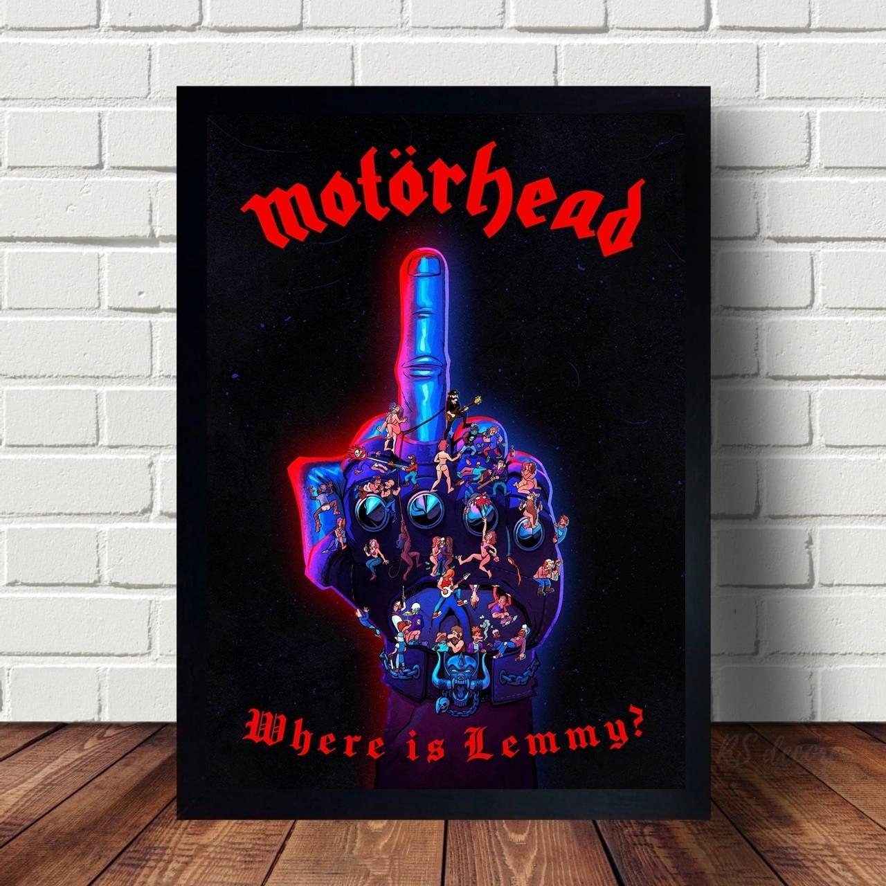 Quadro Decorativo Motorhead IV