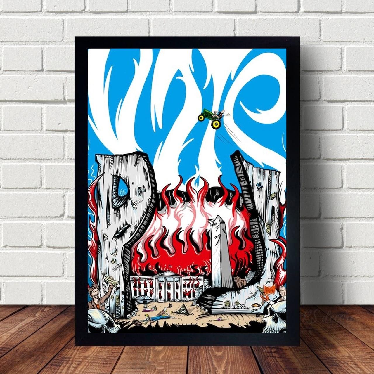 Quadro Decorativo Pearl Jam II