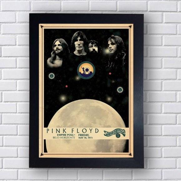 Quadro Decorativo  Pink Floyd II