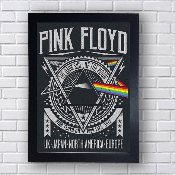 Quadro Decorativo  Pink Floyd V