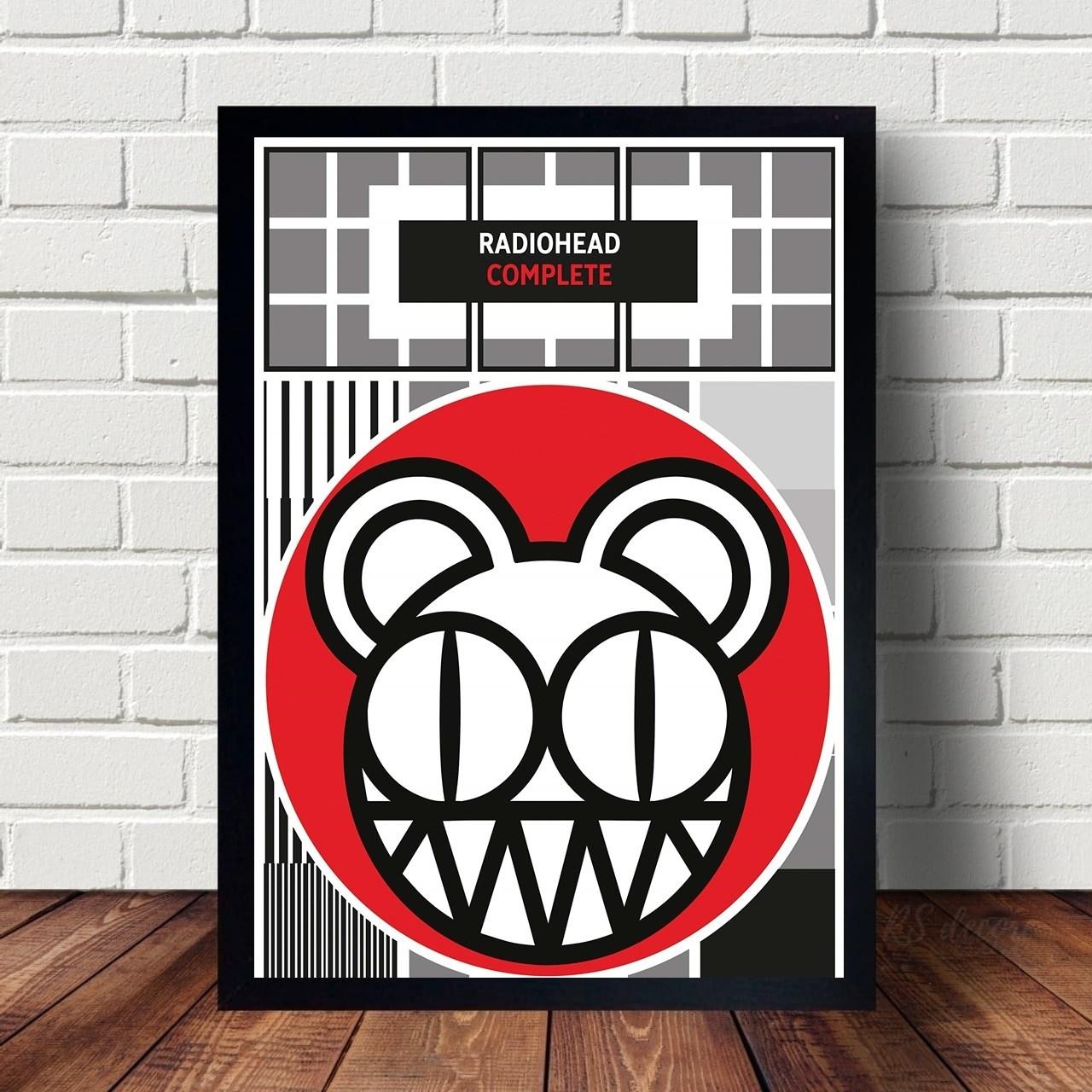 Quadro Decorativo Radiohead V