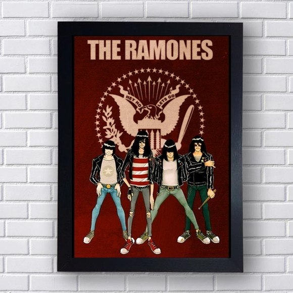 Quadro Decorativo Ramones IV