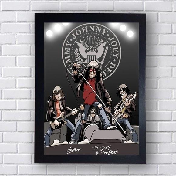 Quadro Decorativo  Ramones I