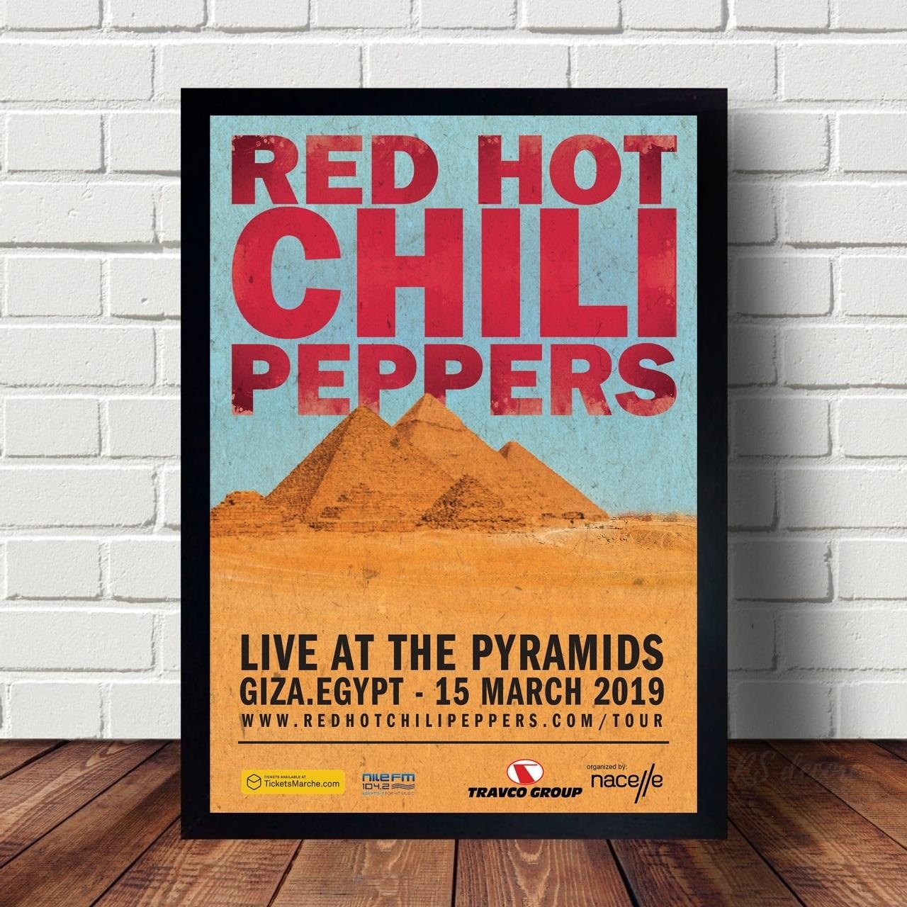 Quadro Decorativo Red Hot Chili Peppers VIII