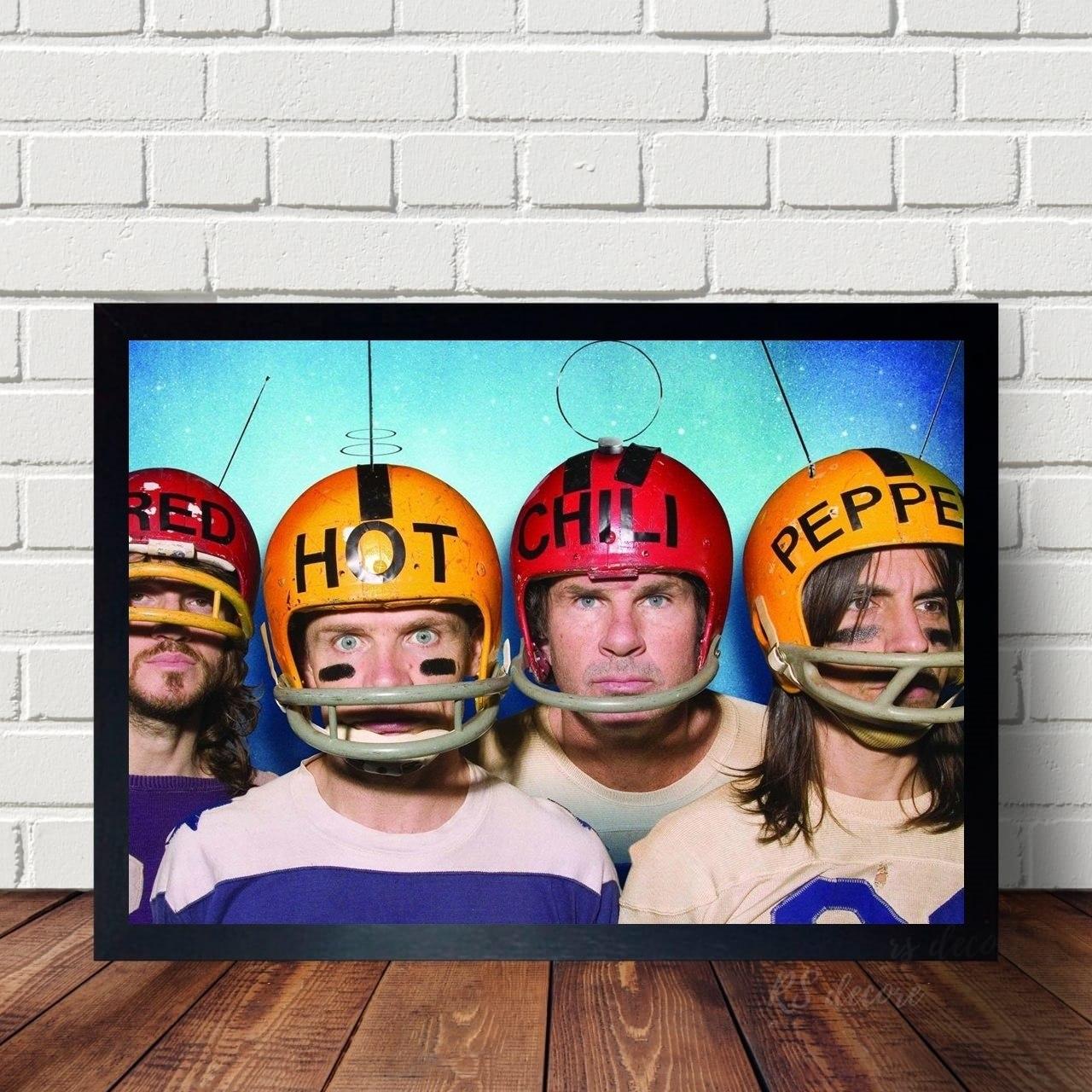 Quadro Decorativo Red Hot Chili Peppers XI