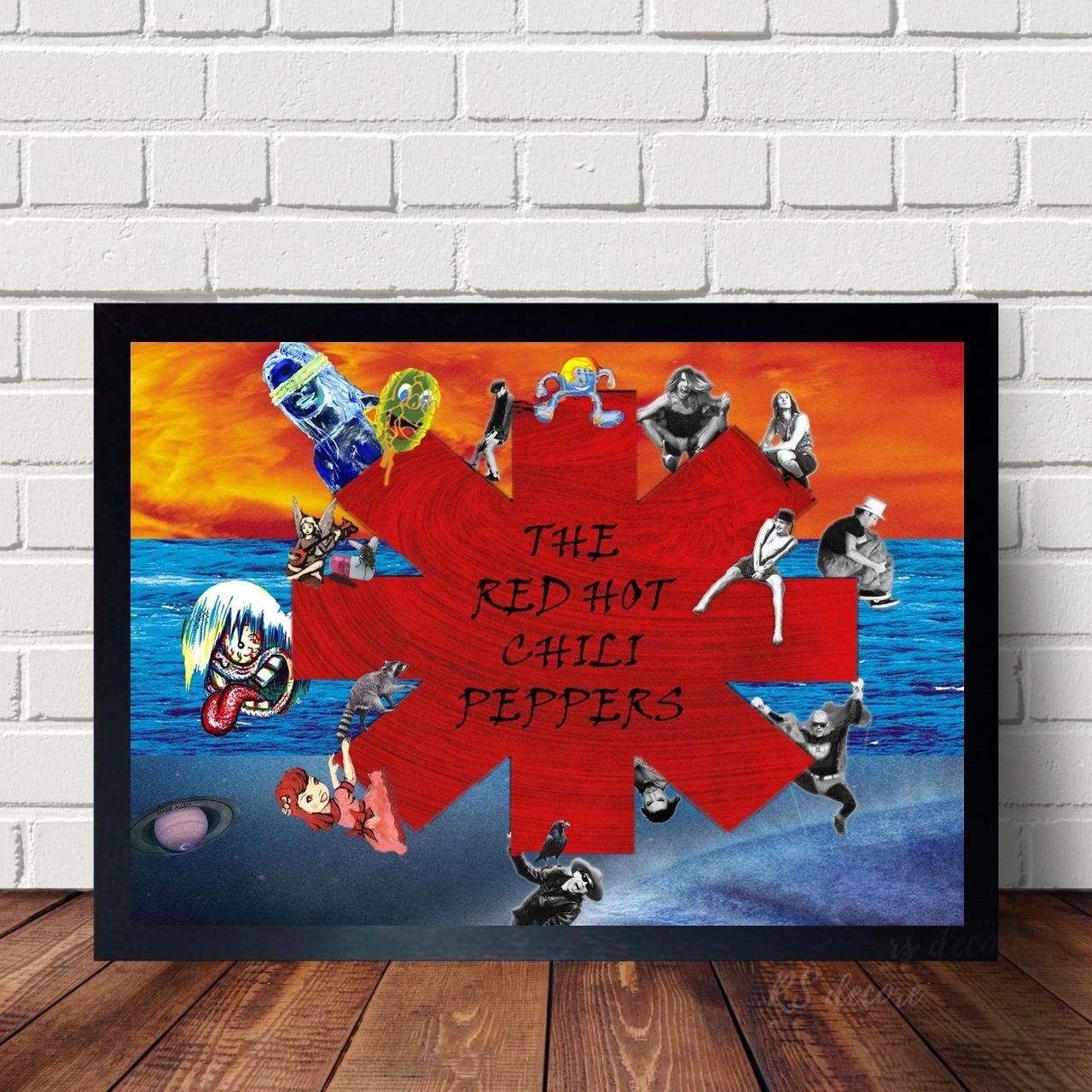 Quadro Decorativo Red Hot Chili Peppers XII