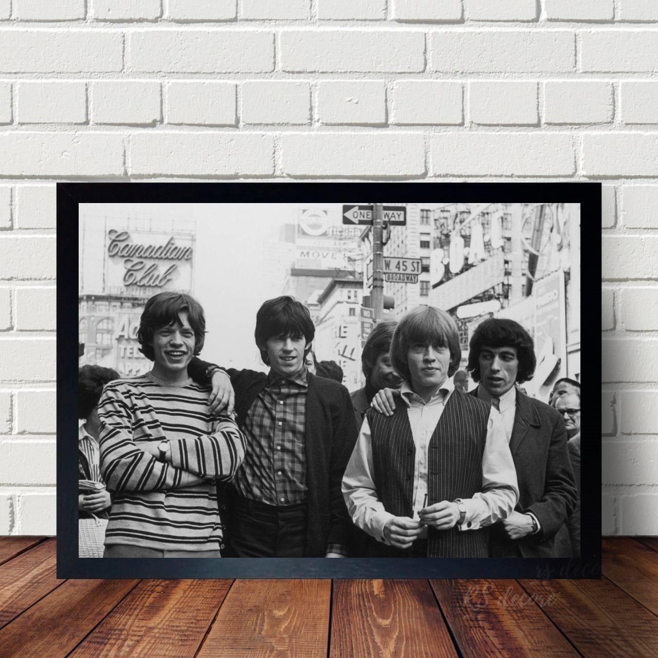 Quadro Decorativo Rolling Stones I
