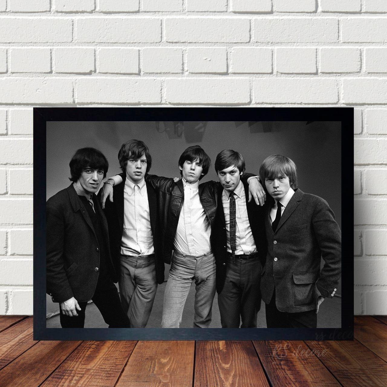 Quadro Decorativo Rolling Stones IV