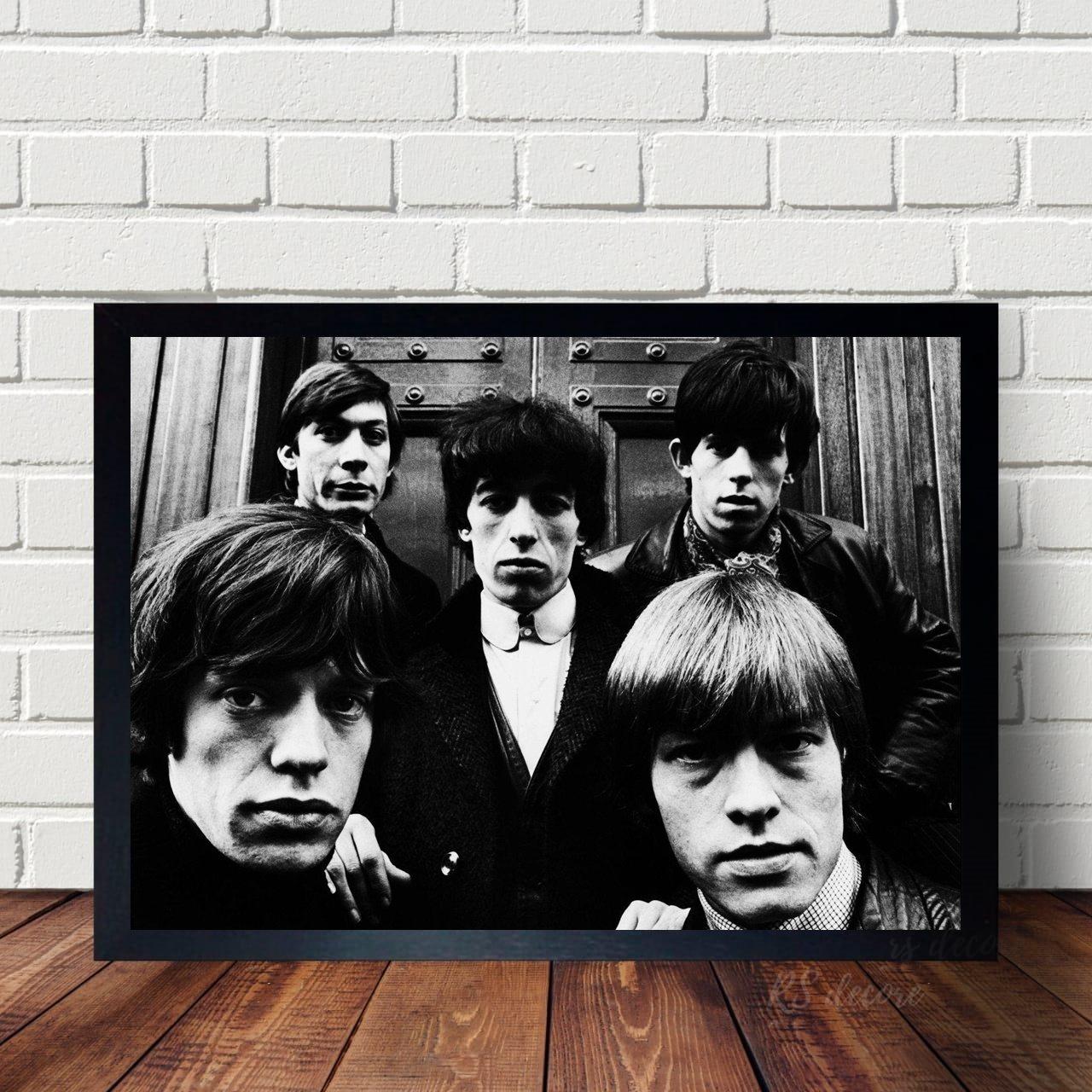 Quadro Decorativo Rolling Stones VII