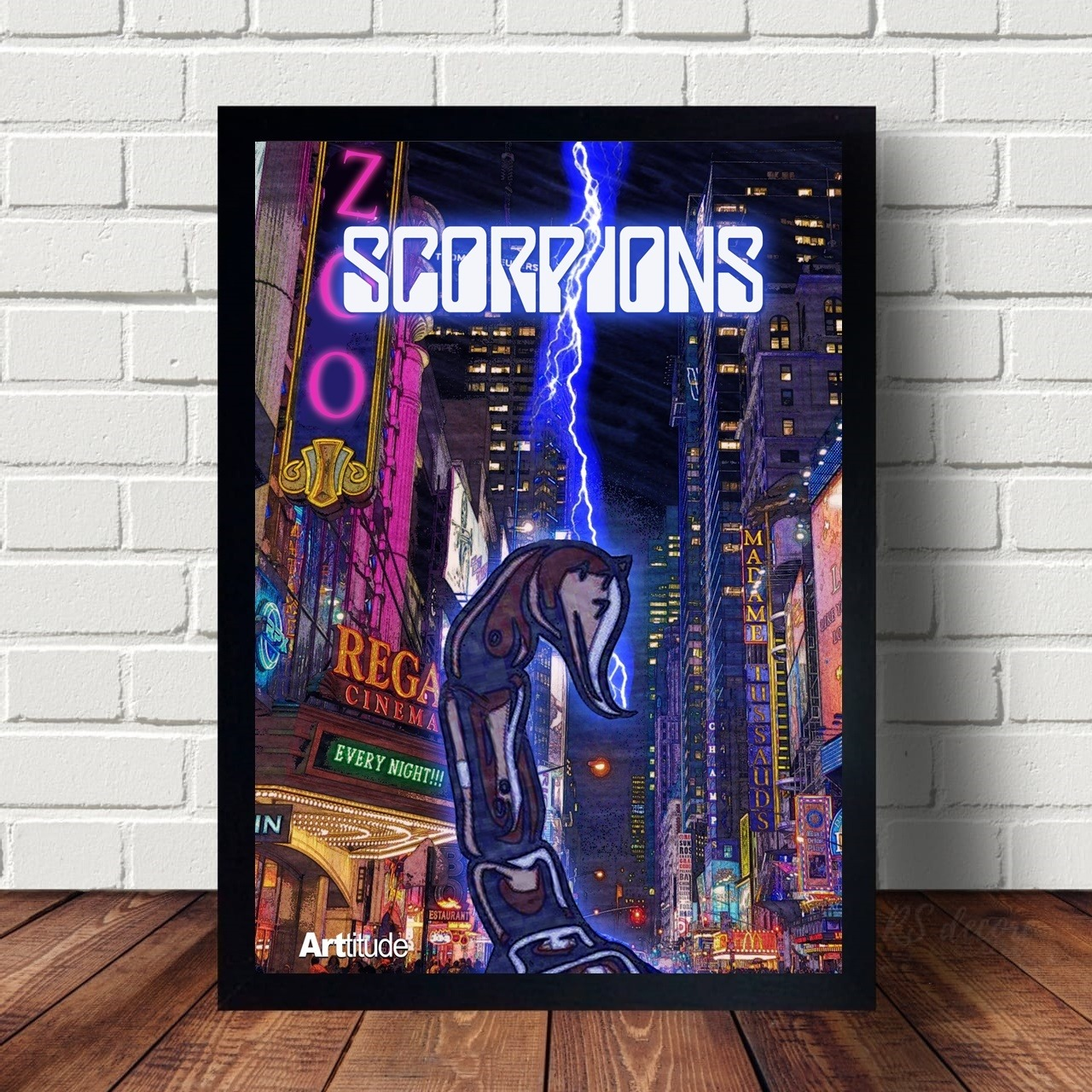 Quadro Decorativo Scorpions I