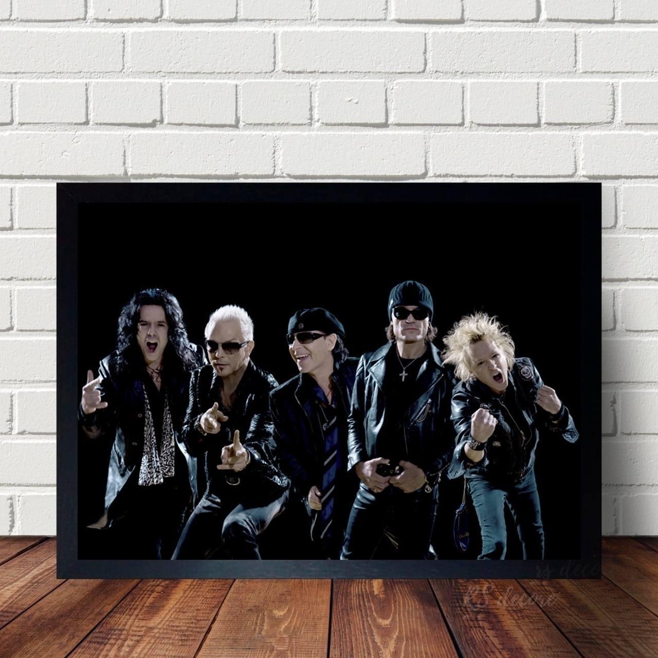 Quadro Decorativo Scorpions VI
