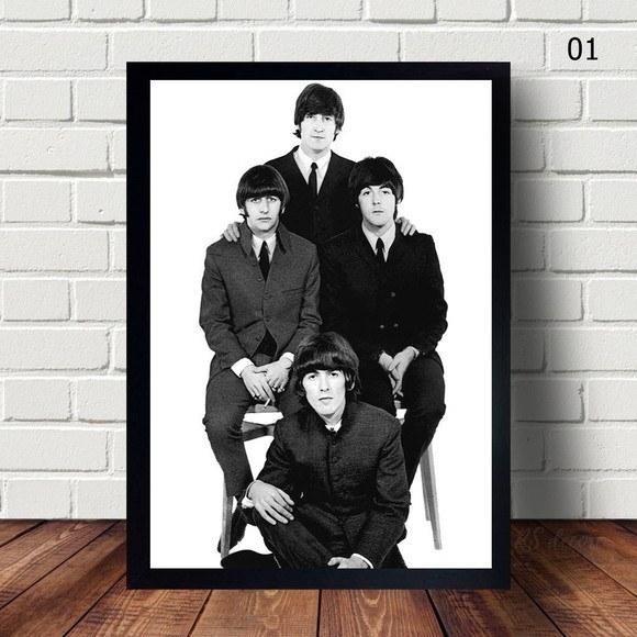Quadro Decorativo  The Beatles I