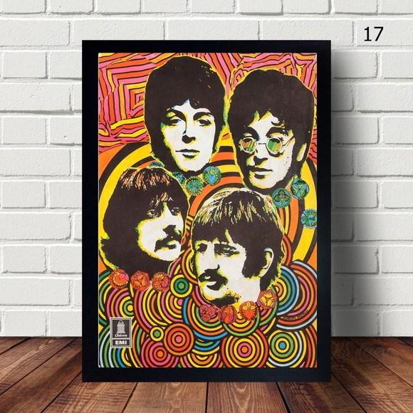 Quadro Decorativo  The Beatles III