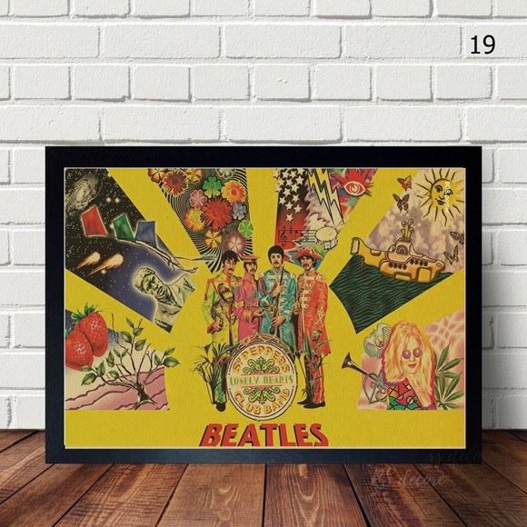 Quadro Decorativo  The Beatles V