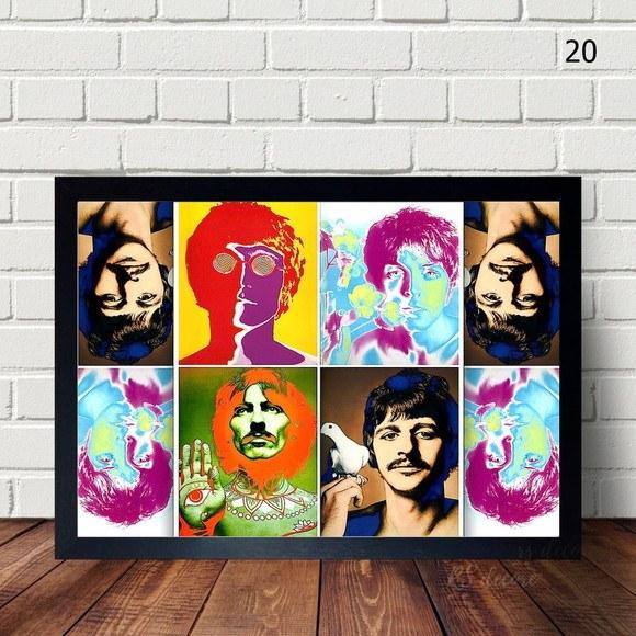 Quadro Decorativo  The Beatles VI