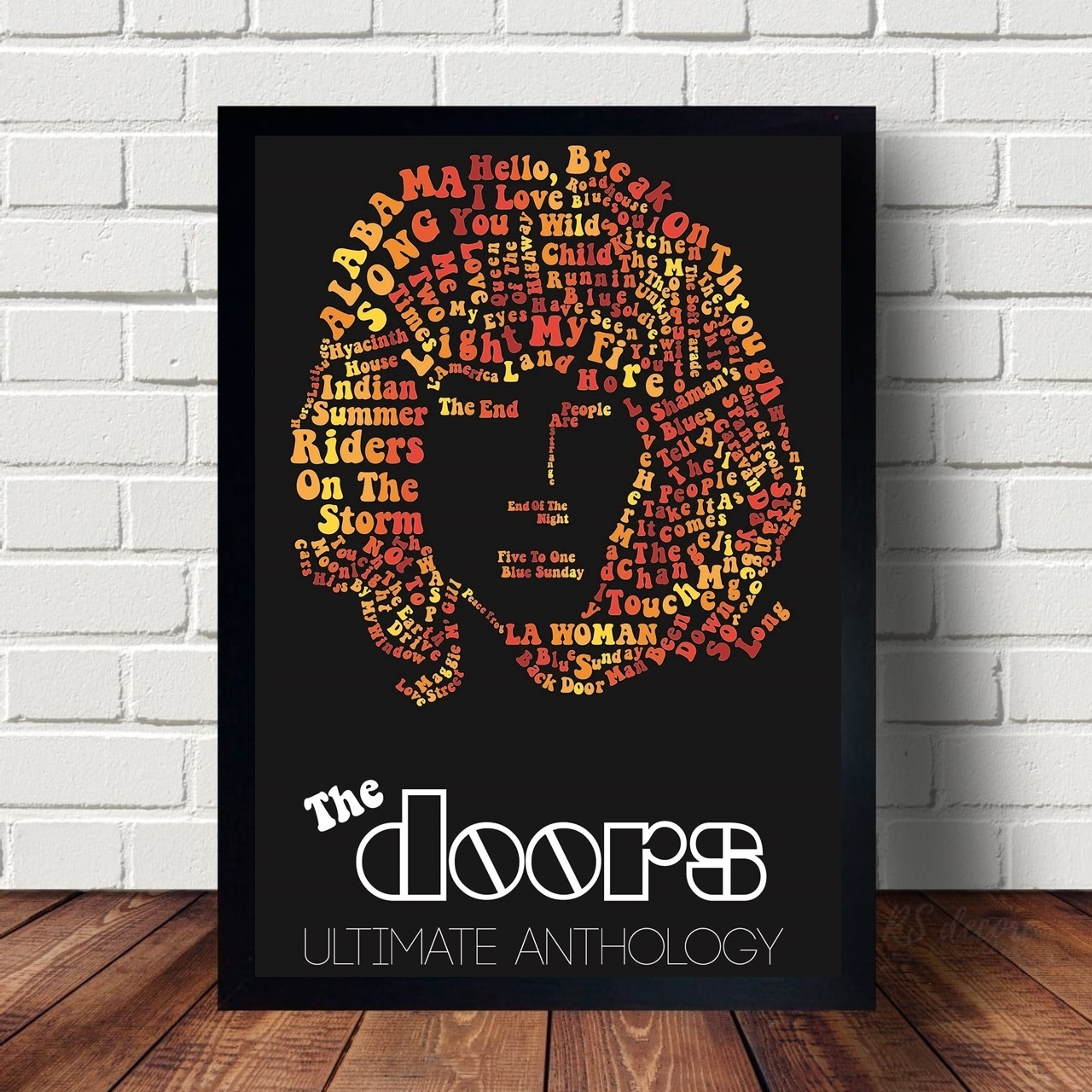 Quadro Decorativo The Doors I