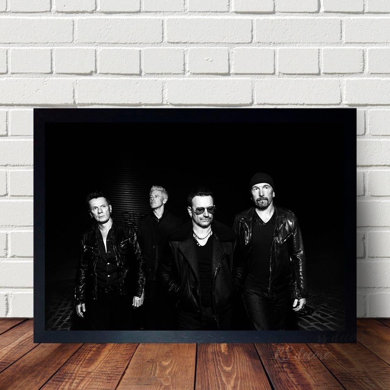 Quadro Decorativo U2 I