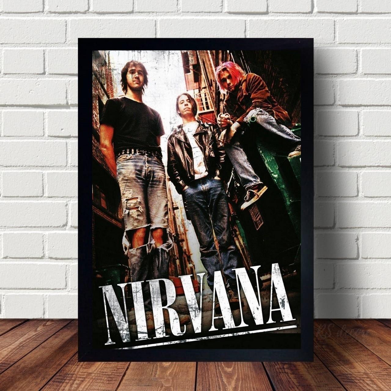 Quadro Integrantes Da Nirvana