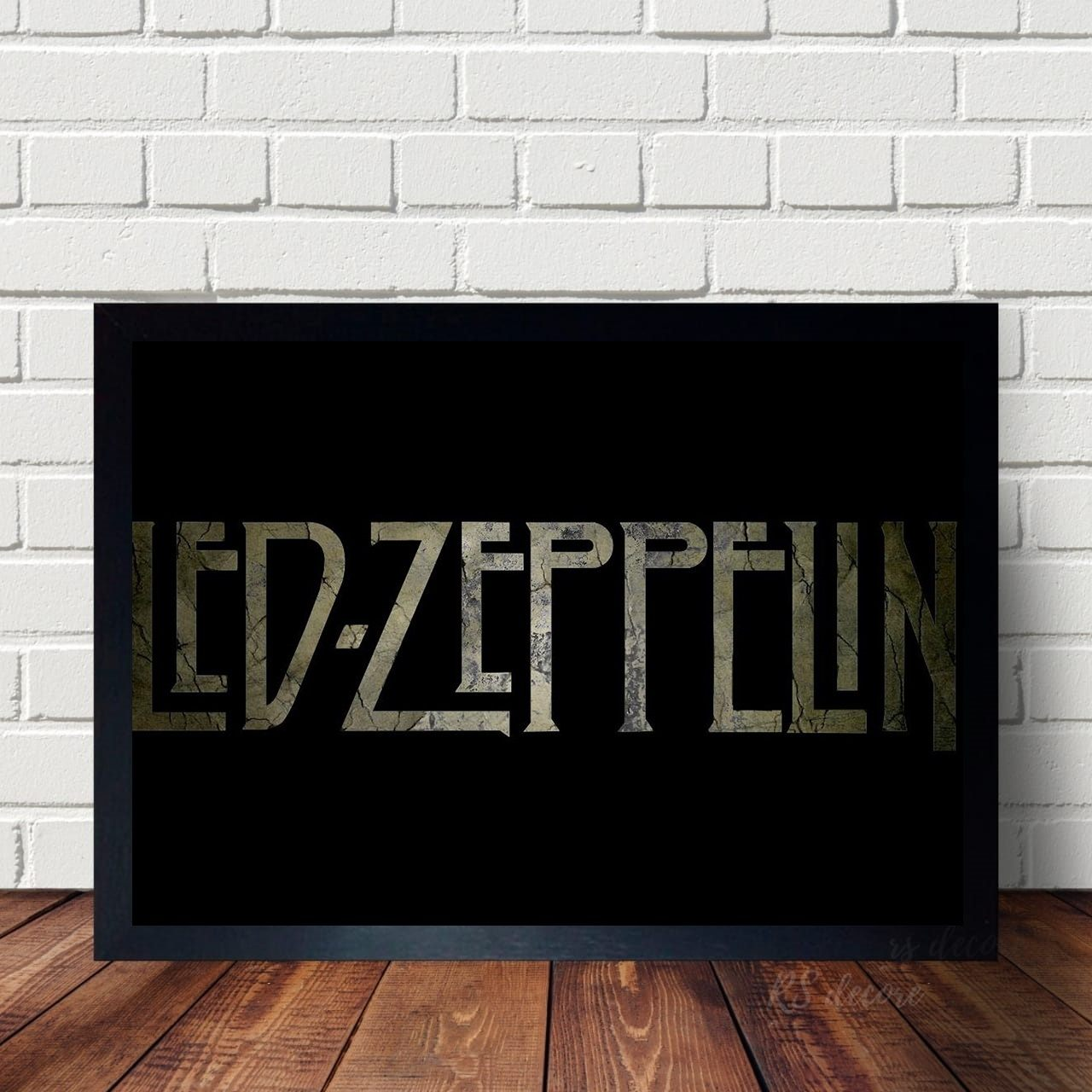 Quadro Led Zeppelin Letras