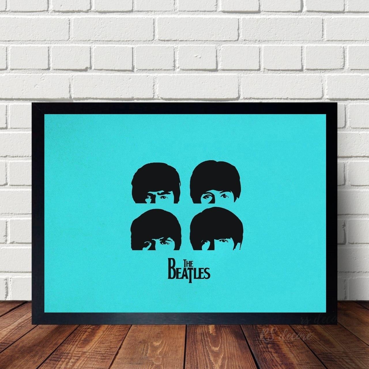 Quadro The Beatles Azul