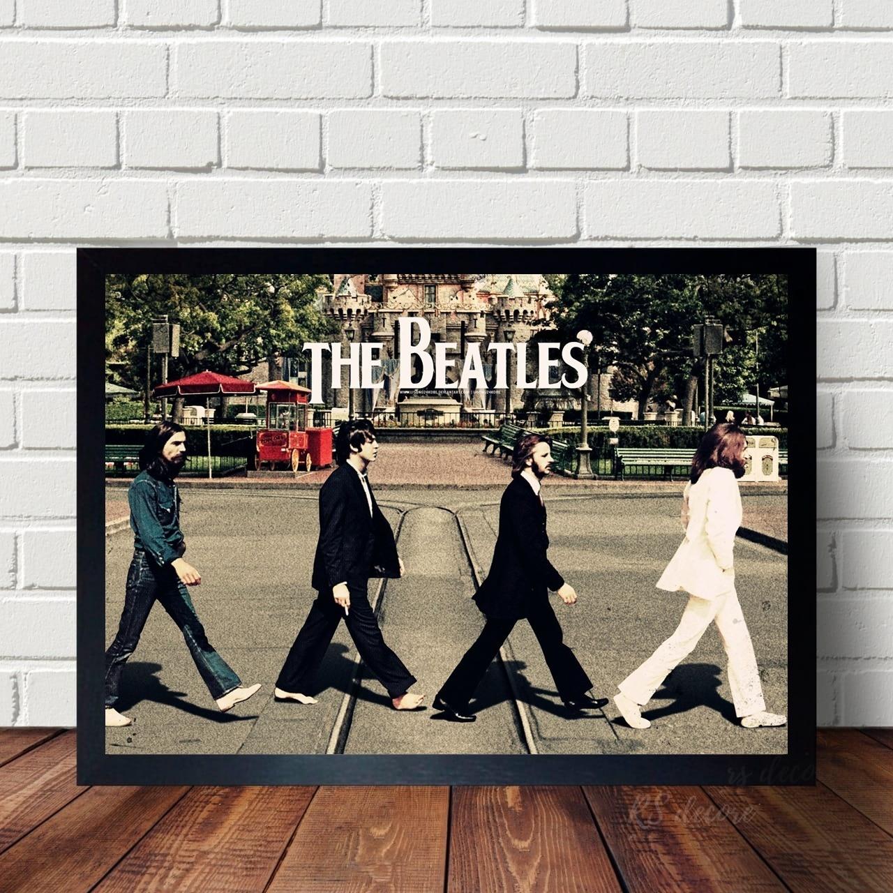 Quadro The Beatles Exclusivo