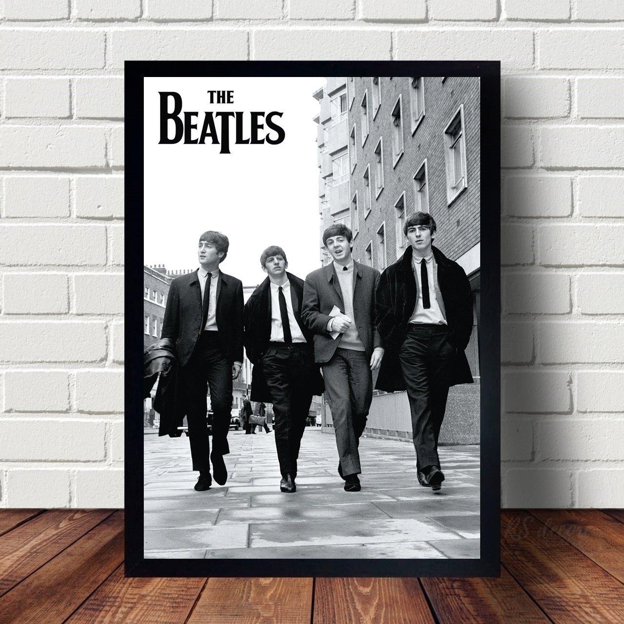 Quadro The Beatles Fotografia Classica