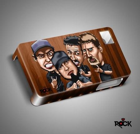 Capa de Celular Exclusiva Mitos do Rock Raimundos