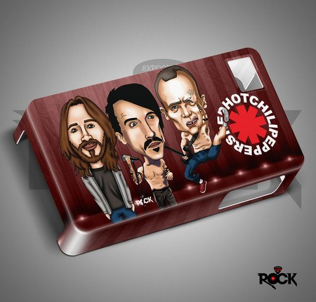 Capa de Celular Exclusiva Mitos do Rock Red Hot Chilli Peppers