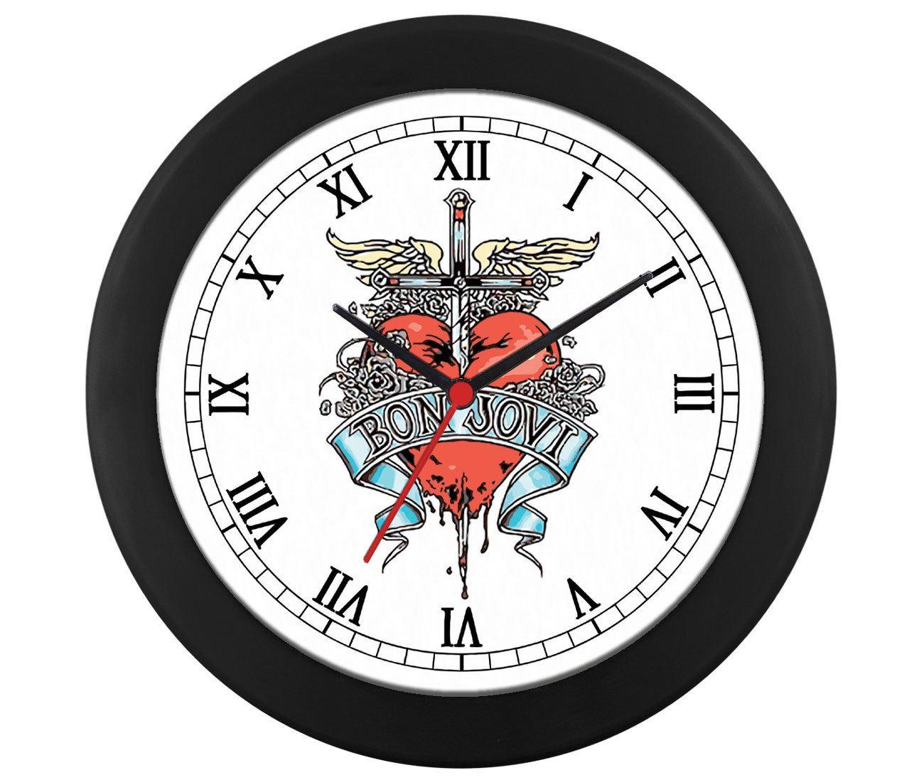 Relógio de parede Bon Jovi