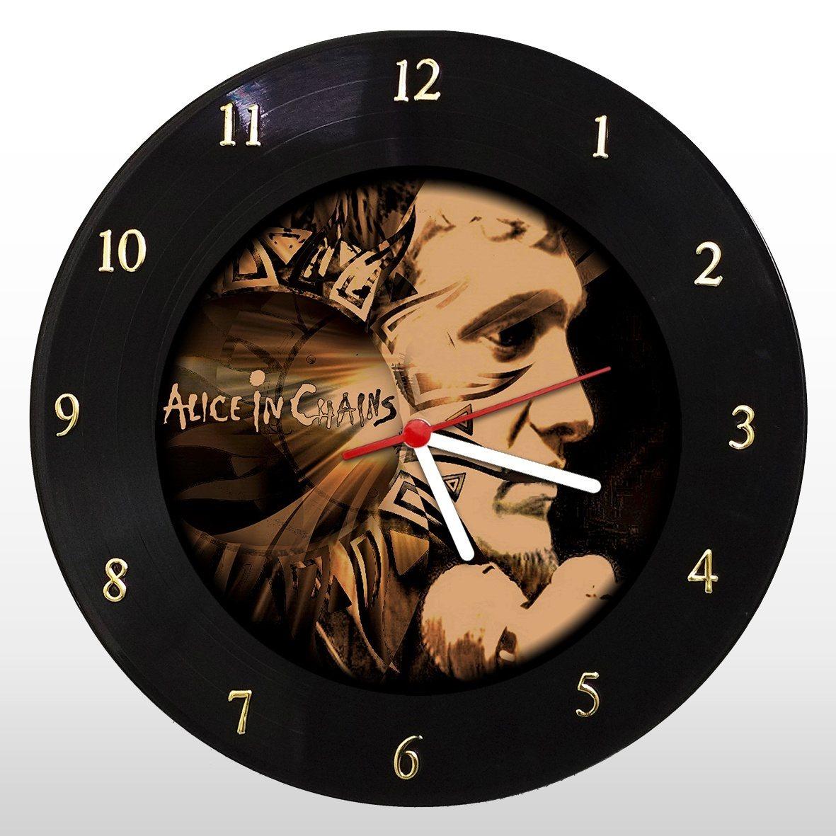 Alice in Chains - Relógio de Parede em Disco de Vinil - Mr. Rock