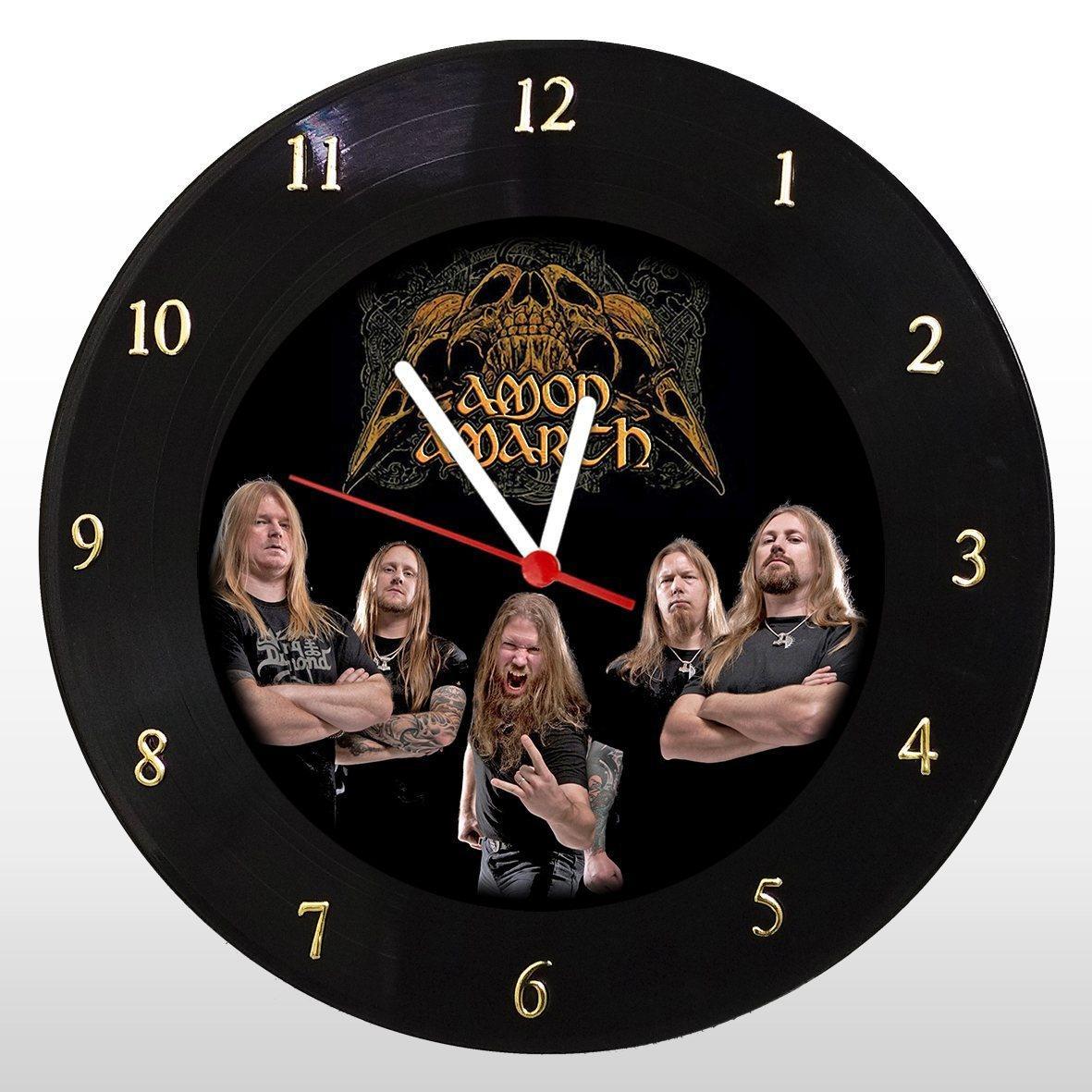 Amon Amarth - Relógio de Parede em Disco de Vinil - Mr. Rock