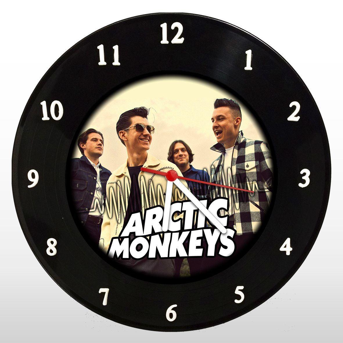 Artict Monkeys - Relógio de Parede em Disco de Vinil - Mr. Rock