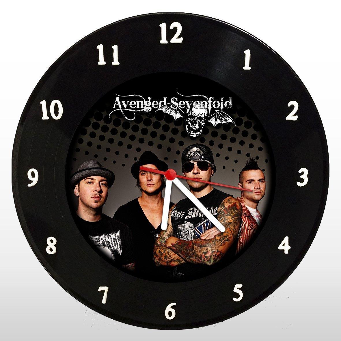 Avenged Sevenfold - Relógio de Parede em Disco de Vinil - Mr. Rock