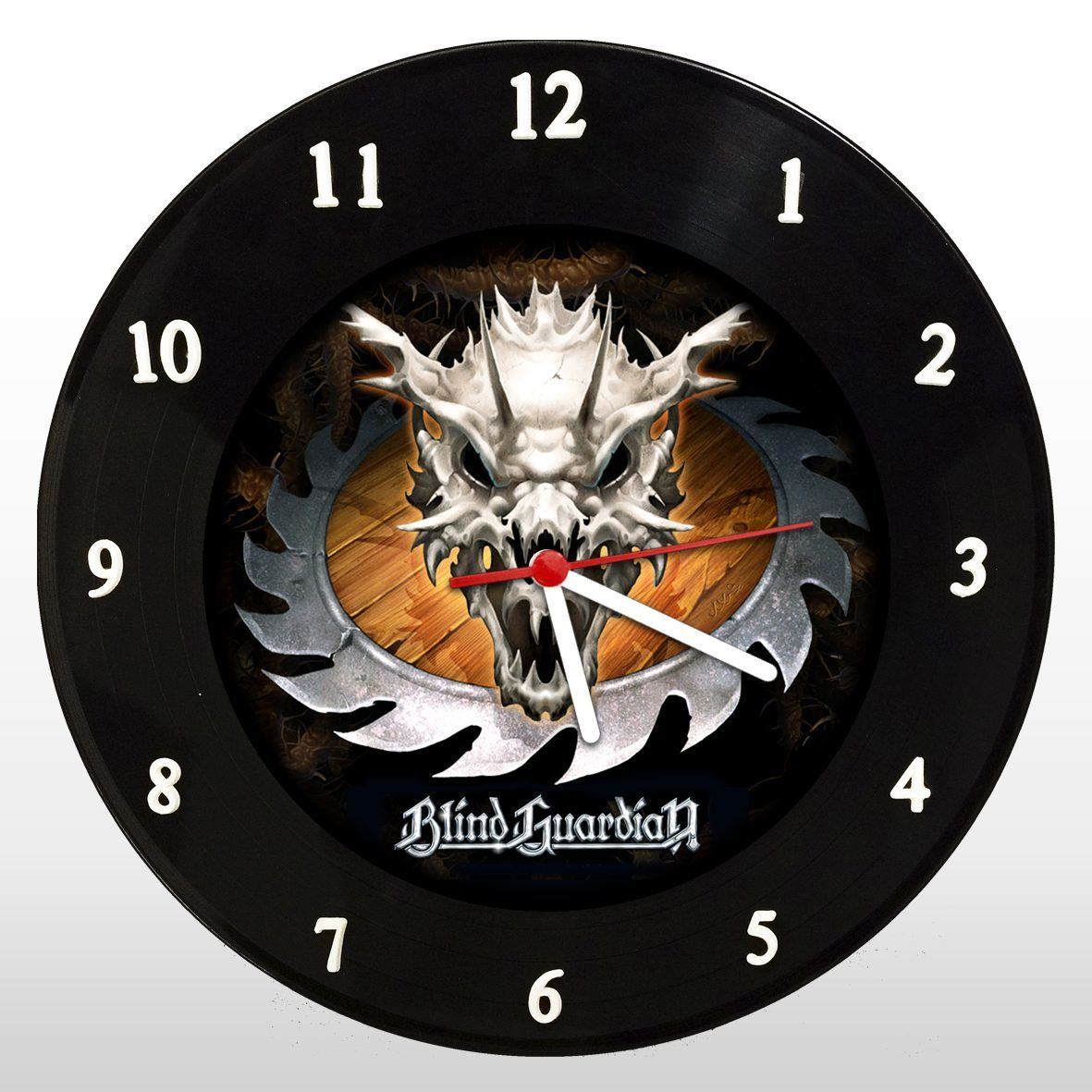Blind Guardian - Relógio de Parede em Disco de Vinil - Mr. Rock