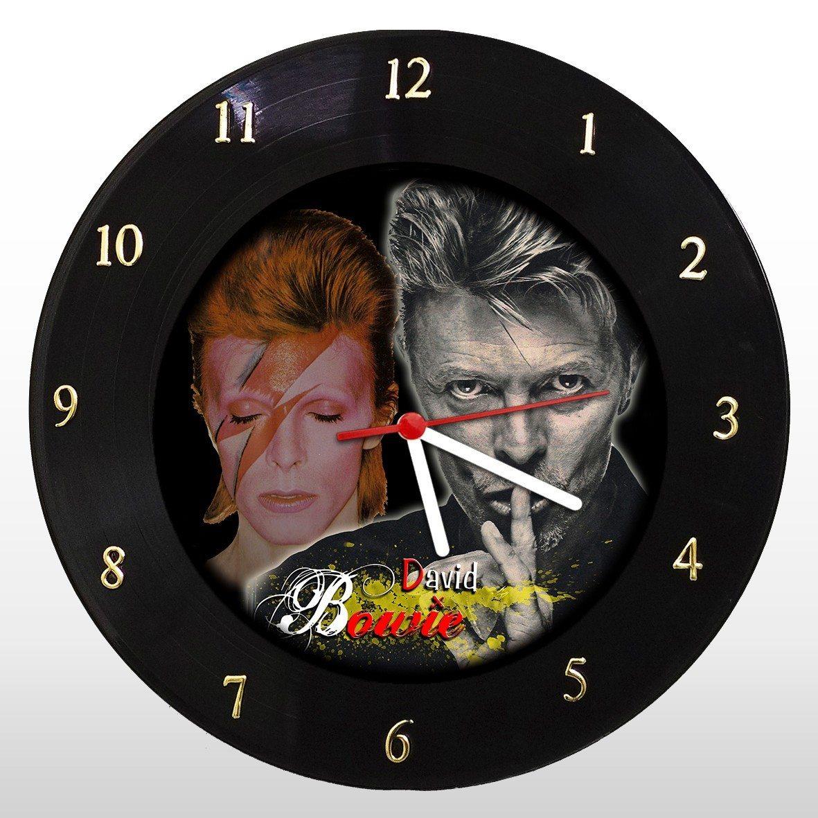 David Bowie - Relógio de Parede em Disco de Vinil - Mr. Rock