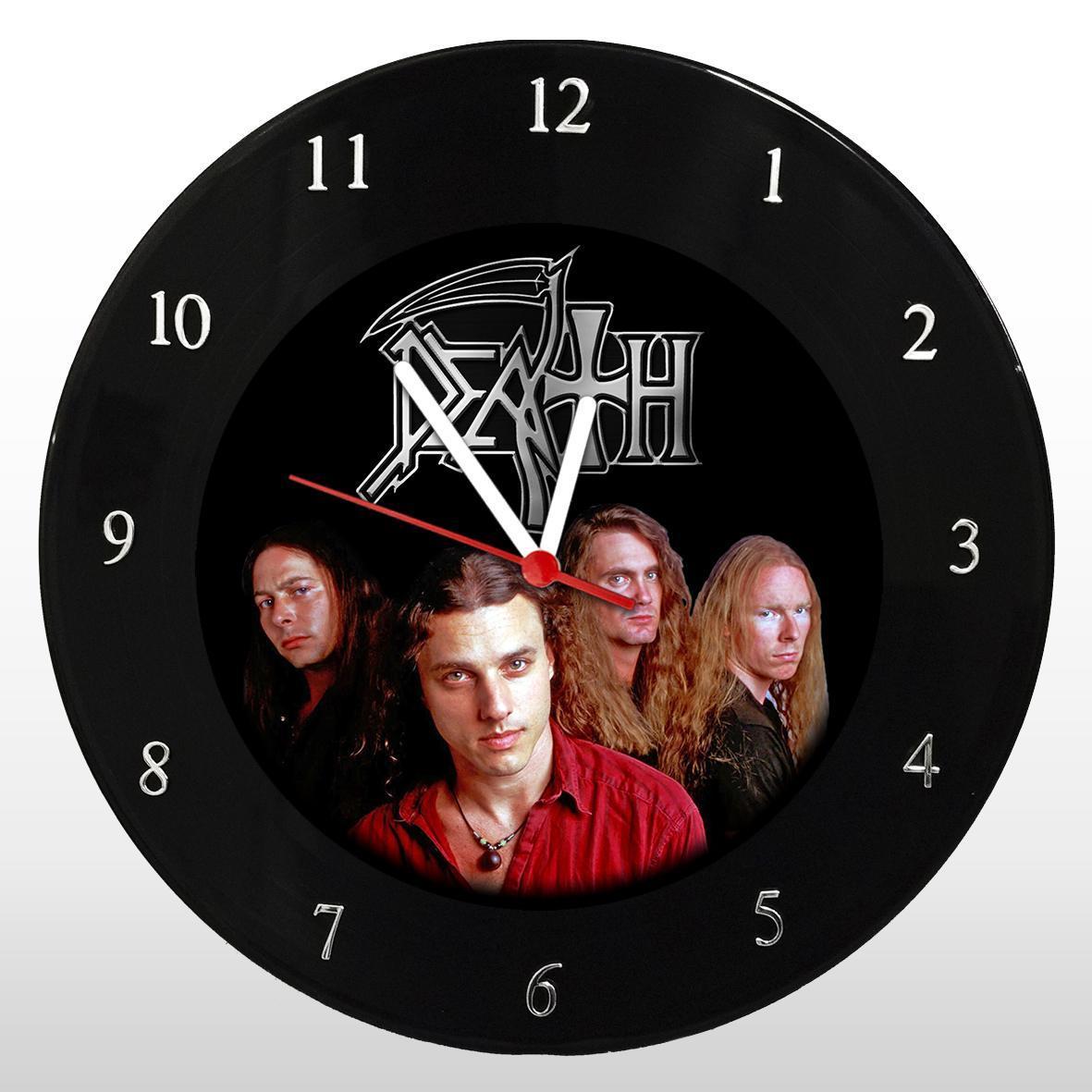 Death - Relógio de Parede em Disco de Vinil - Mr. Rock