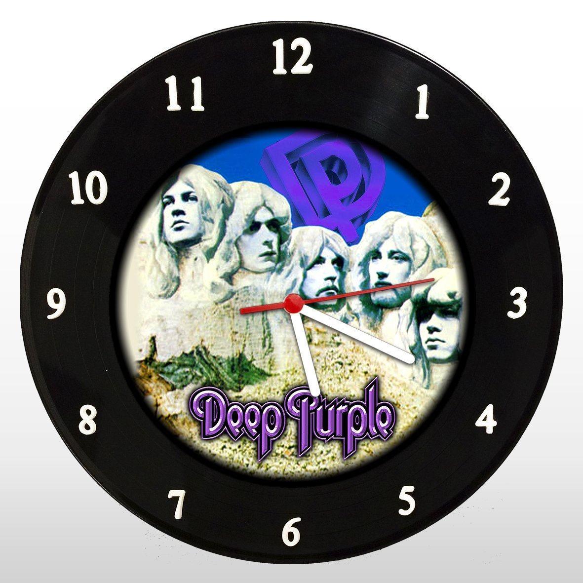 Deep Purple - Relógio de Parede em Disco de Vinil - Mr. Rock
