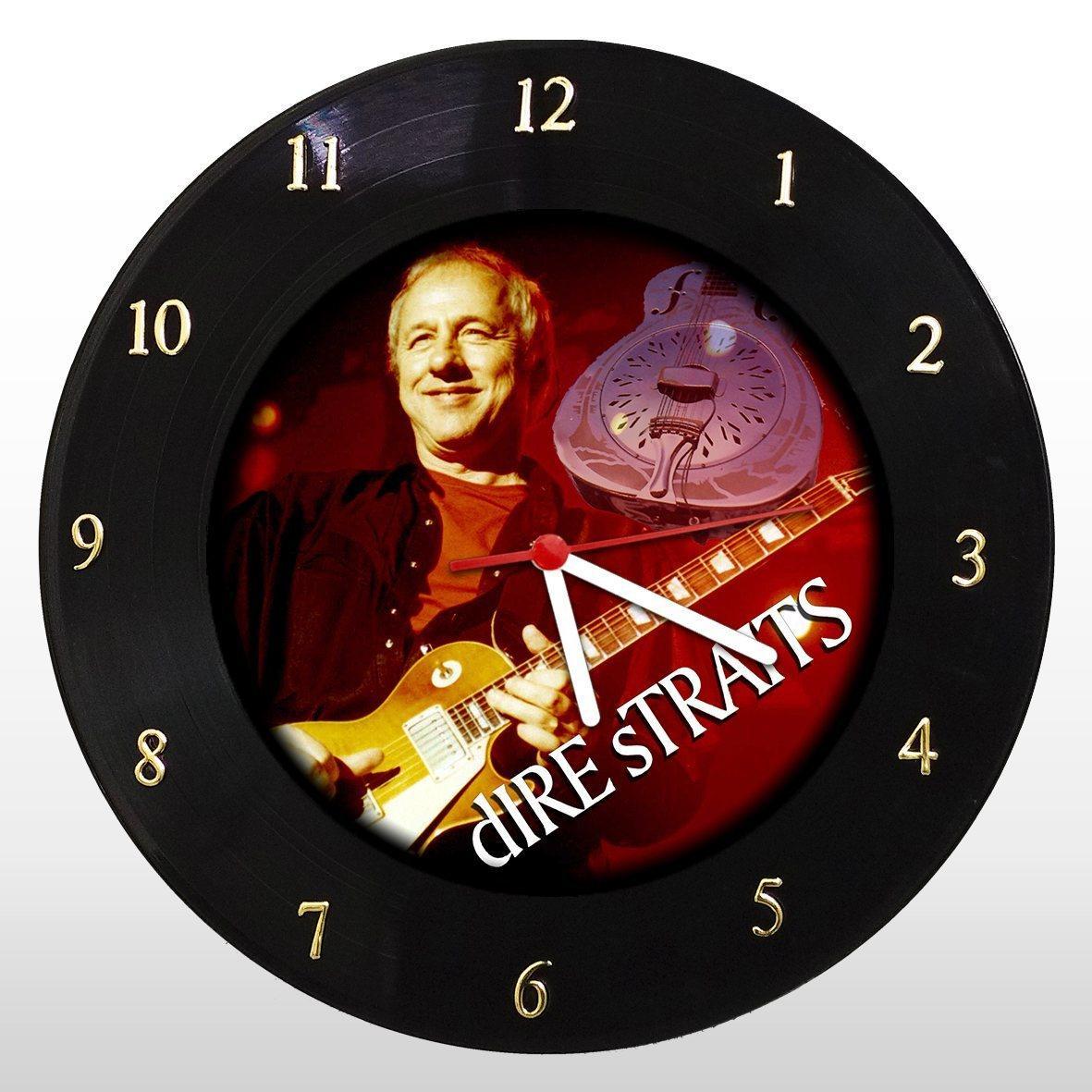 Dire Straits - Relógio de Parede em Disco de Vinil - Mr. Rock