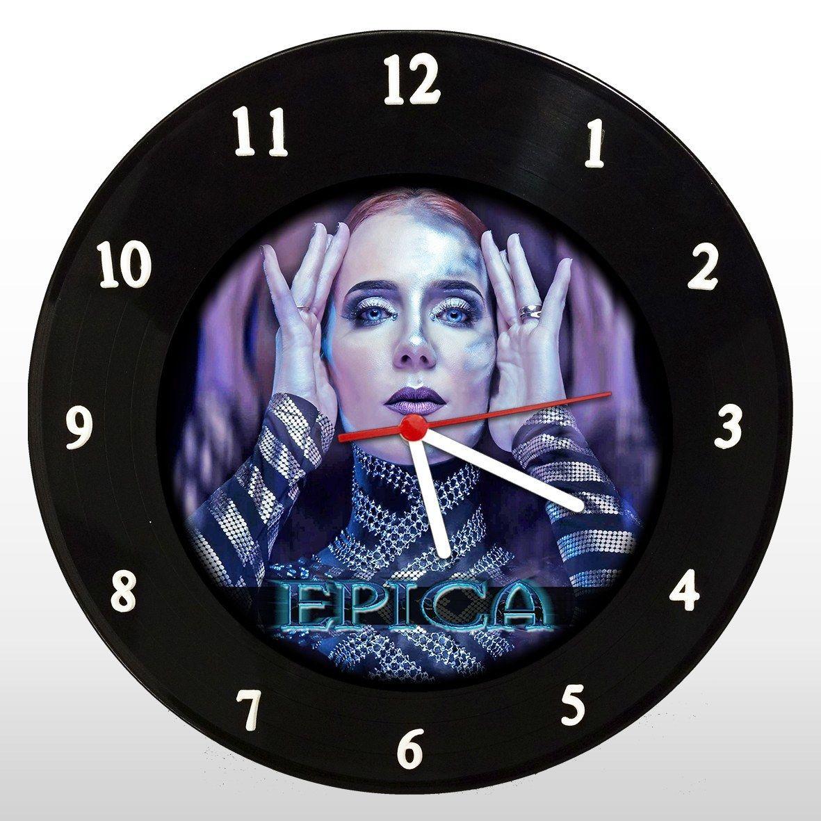 Epica - Relógio de Parede em Disco de Vinil - Mr. Rock