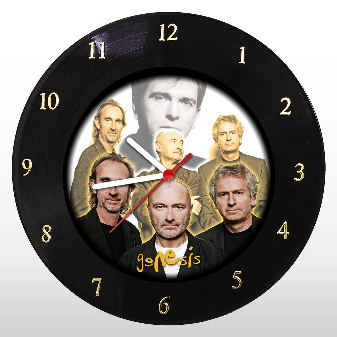 Genesis - Relógio de Parede em Disco de Vinil - Mr. Rock
