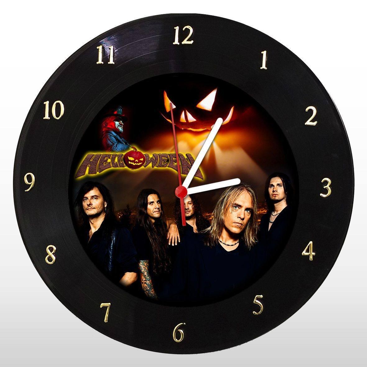 Helloween - Relógio de Parede em Disco de Vinil - Mr. Rock
