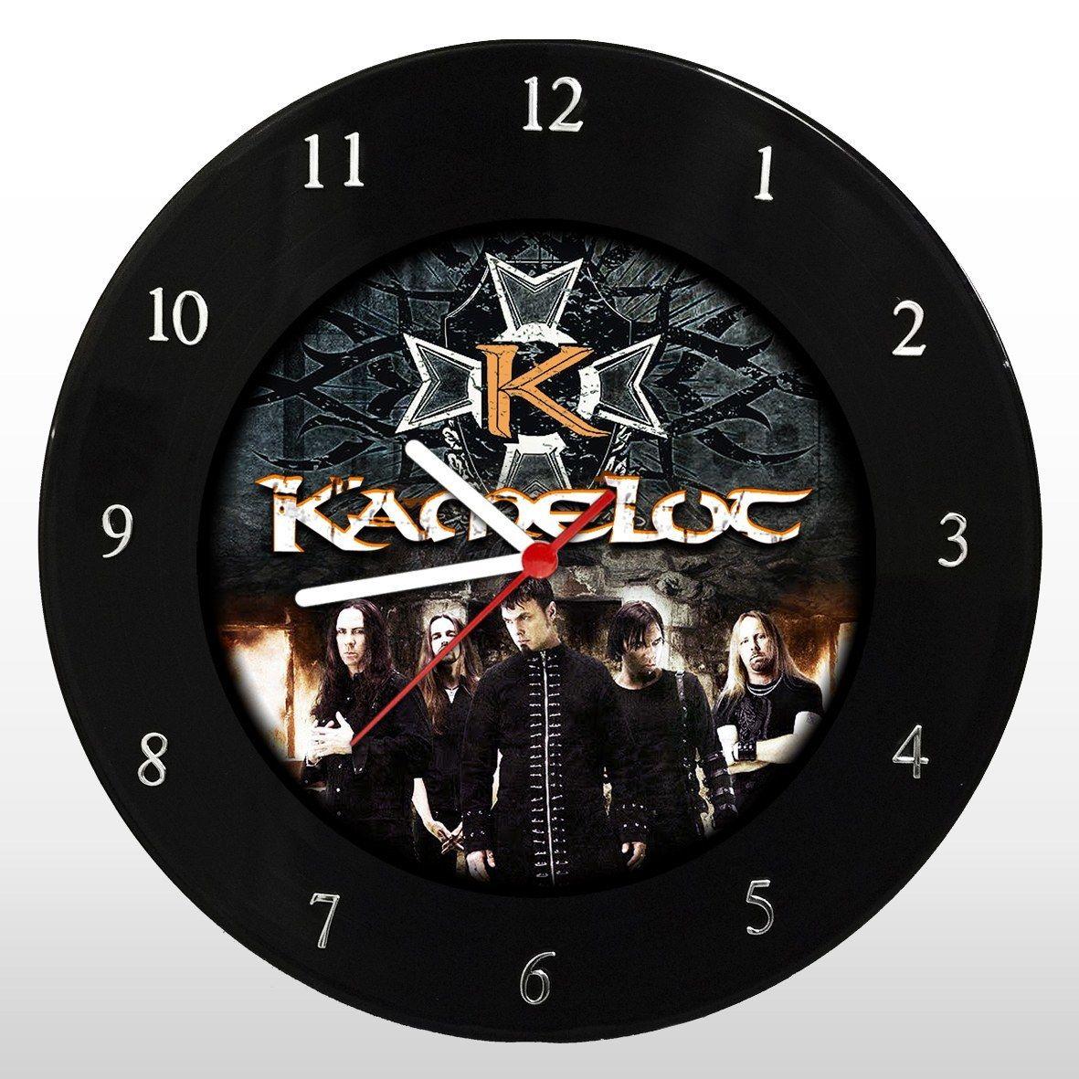 Kamelot - Relógio de Parede em Disco de Vinil - Mr. Rock
